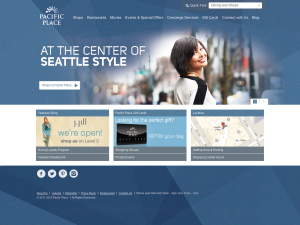 Pacific Place Mobile Website